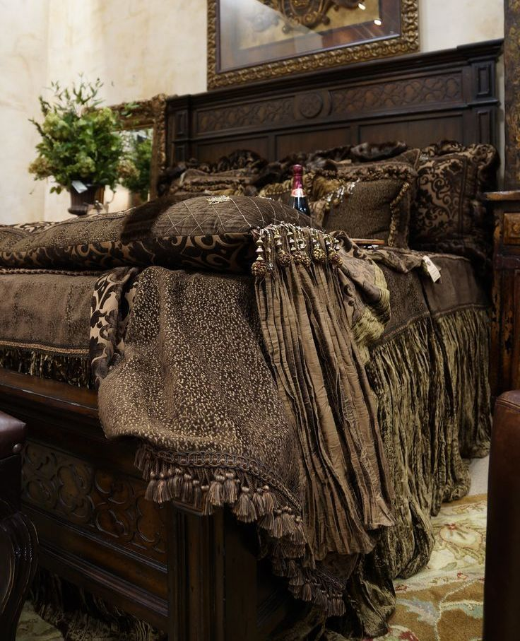 Luxury High End Tuscan Style Bedding By Reilly-Chance
