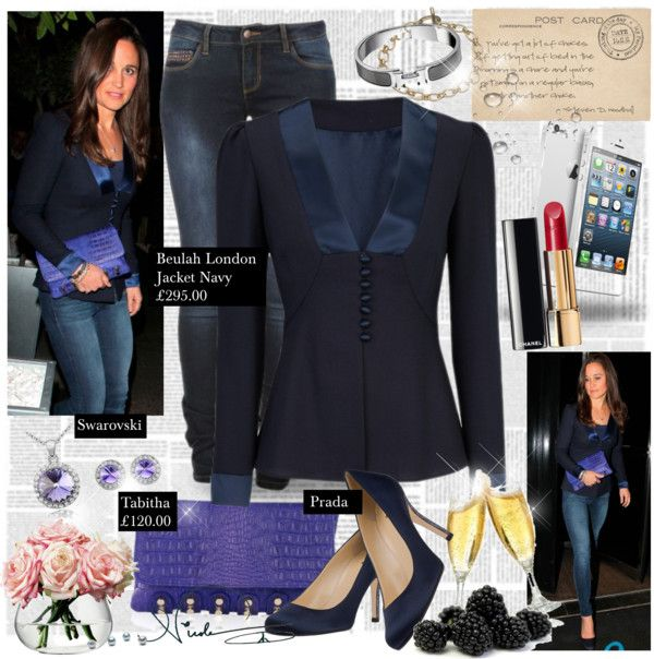 """""""Look #PippaMiddleton - Abril 24, 2013"""" by presidente1 ❤ liked on Polyvore"""