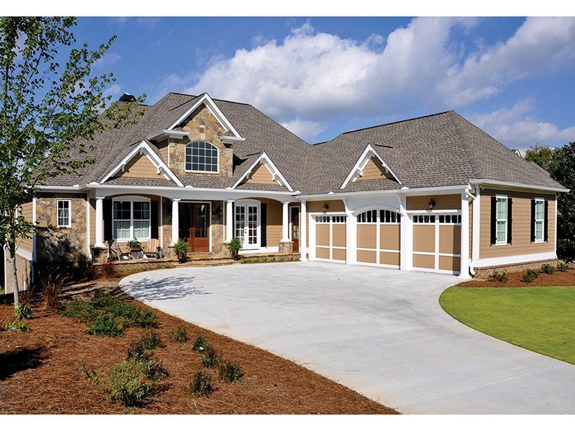 Fresh Craftsman Style House Plans with Walkout Basement