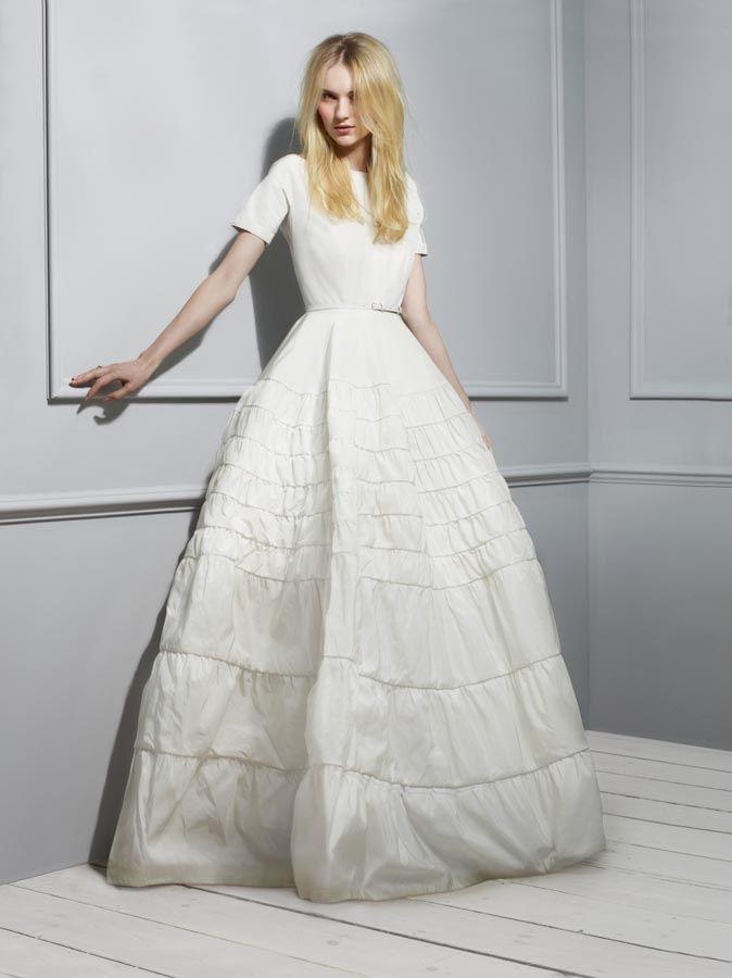 vestidos de novia con sello de diseñador | novias | pinterest