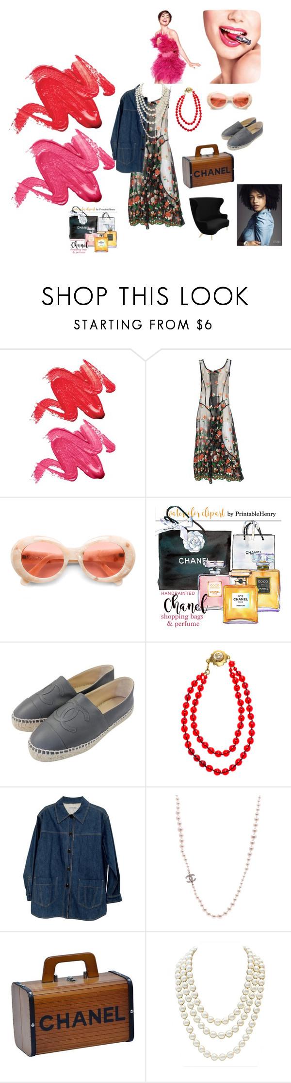 """Easy To Use..."" by rosastreet on Polyvore featuring moda, Stila, Lancôme, Comme des Garçons, Acne Studios, Chanel e Tom Dixon"