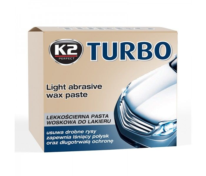 K2 Turbo Abrazivna Polir Pasta 250g Turbo Pasta Toothpaste