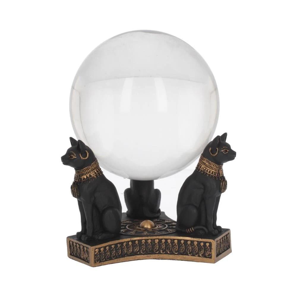 Bastet/'s Honour Crystal Ball Holder