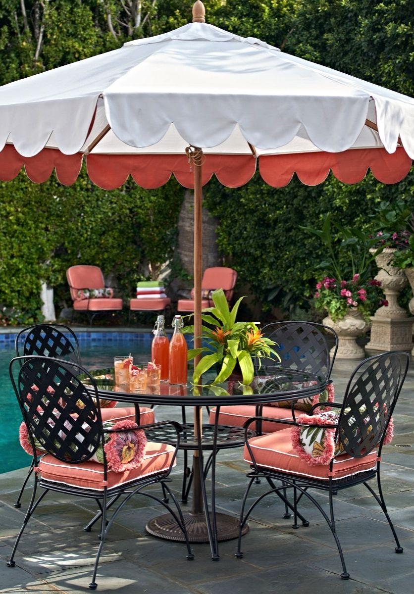 Ellington Dining Outdoor Decor Wrought Iron Patio Chairs Patio