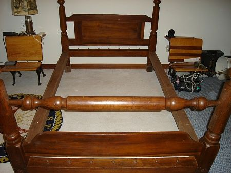 rope bed   Bed, Antique Cannonball Rope bed - Pensacola Fishing Forum
