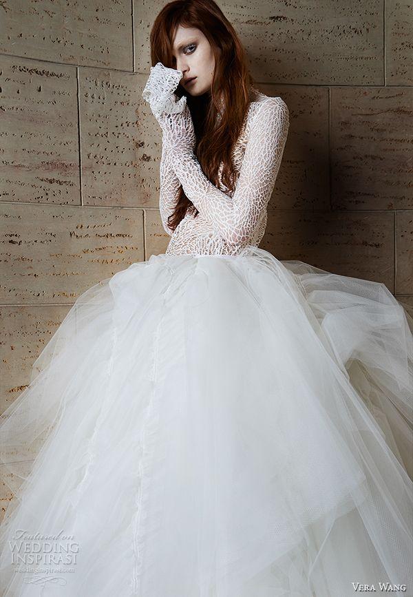 Vera Wang Spring 2015 Wedding Dresses Vera Wang Bridal Edgy Wedding Dress Wedding Dresses Vera Wang