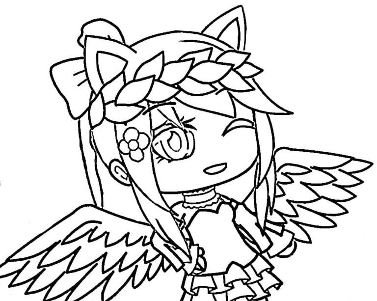 Gacha Life Coloring Pages Unique Collection Print For Free Cute Coloring Pages Coloring Pages Cute Drawings