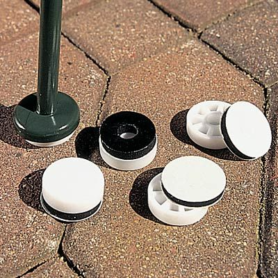 Installs In Secondsu2014no Tools Needed Designed To Fit Most Wrought Iron  Furniture Having The Inverted Metal Cups At The Ends Of The Legs. These  Glides Protect ...