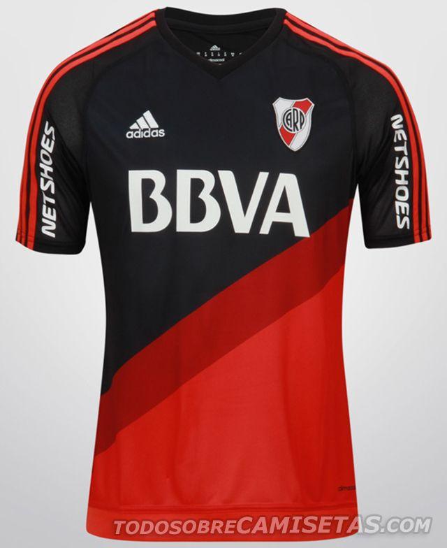 OFICIAL  Camiseta Alternativa Adidas de River Plate 2015  444d700b3de49
