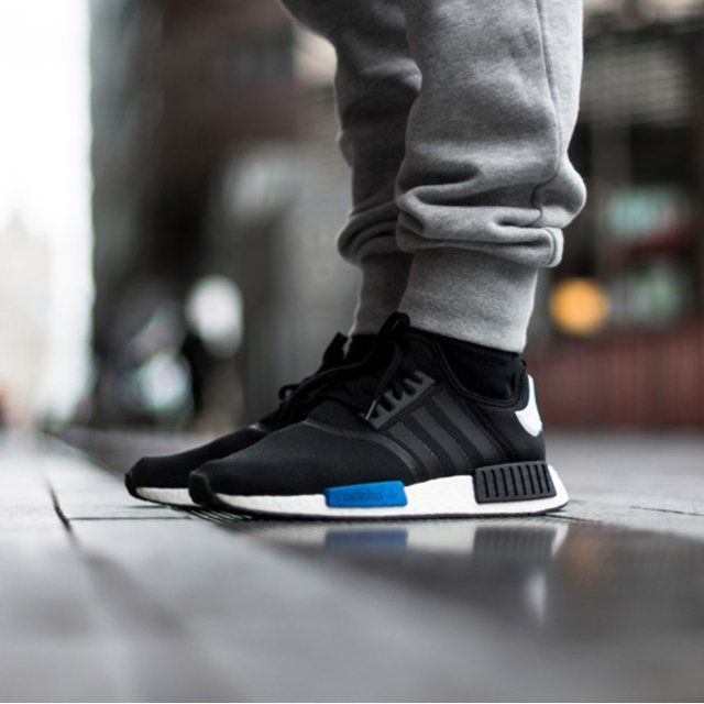 best website fafc4 224f3 ... runner city pack tokyo black blue black 3b14b eb458  closeout the adidas  nmd is a fusion of adidas most progressive silhouettes combined with ...