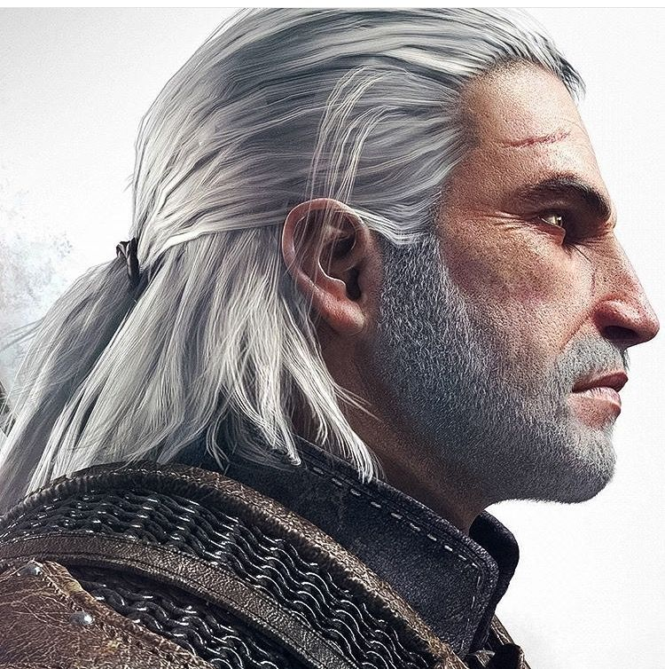 Geralt Of Rivia Geralt Of Rivia The Witcher Wild Hunt The Witcher Geralt