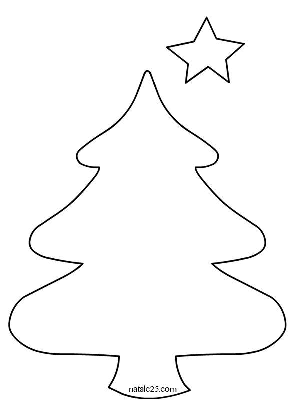 Albero Di Natale Disegno.Image Result For Cartamodello Albero Di Natale In Pannolenci