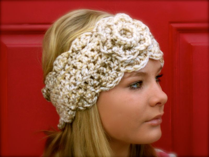 chunky crochet head warmer | Crochet | Pinterest | Stulpen, Strick ...