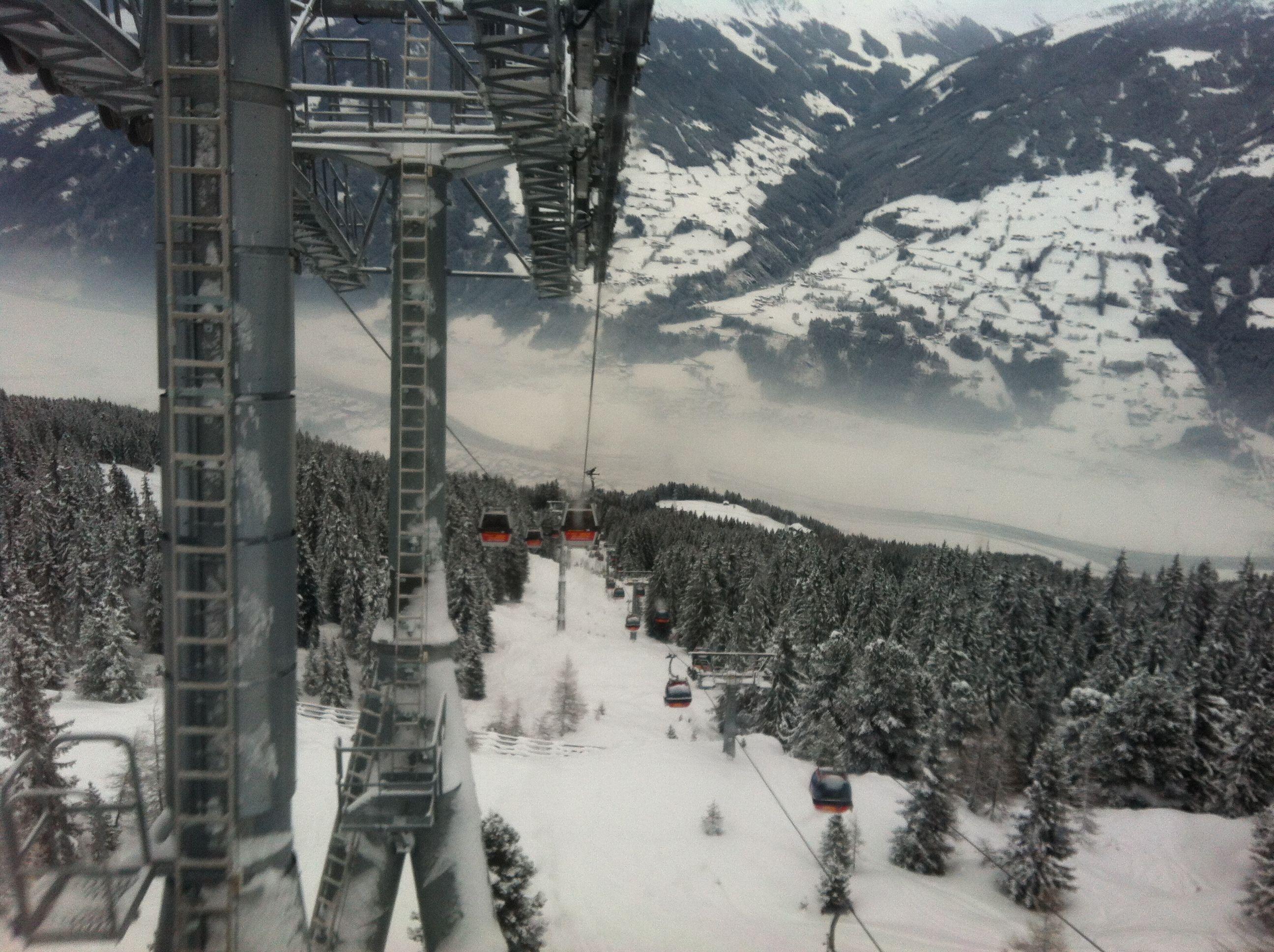 Gondel Kaltenbach Hoch Zillertal