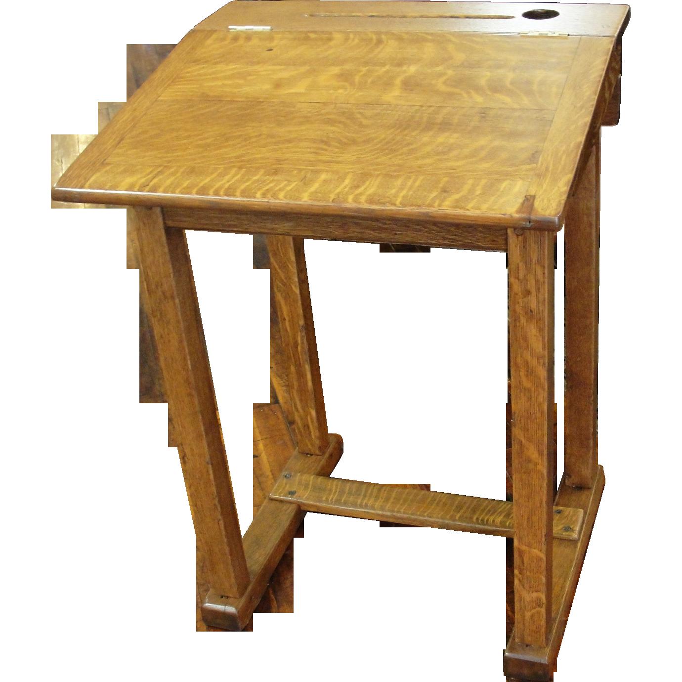 Wooden School Desk Top