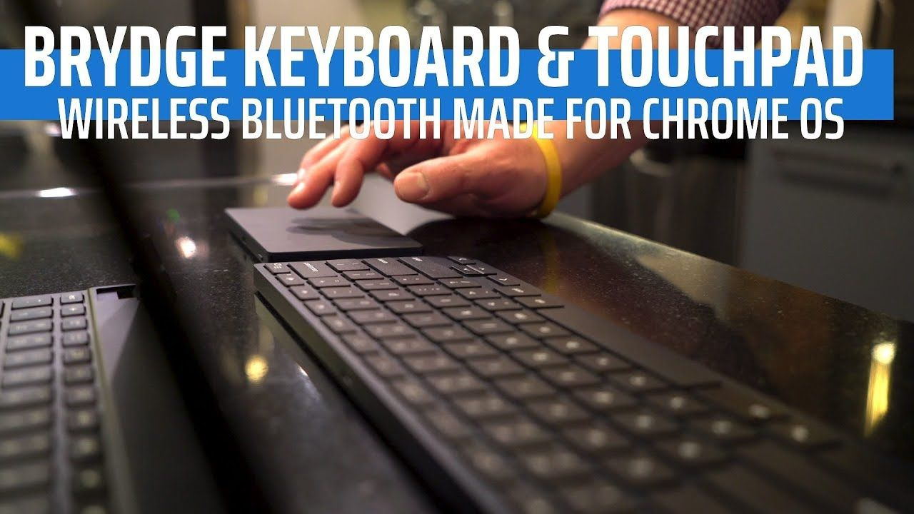 Brydge Debuts First-Ever Bluetooth Wireless Keyboard