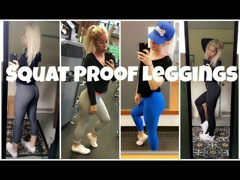 fc0693a58919ad my favorite inexpensive squat proof leggings - YouTube | Activewear ...