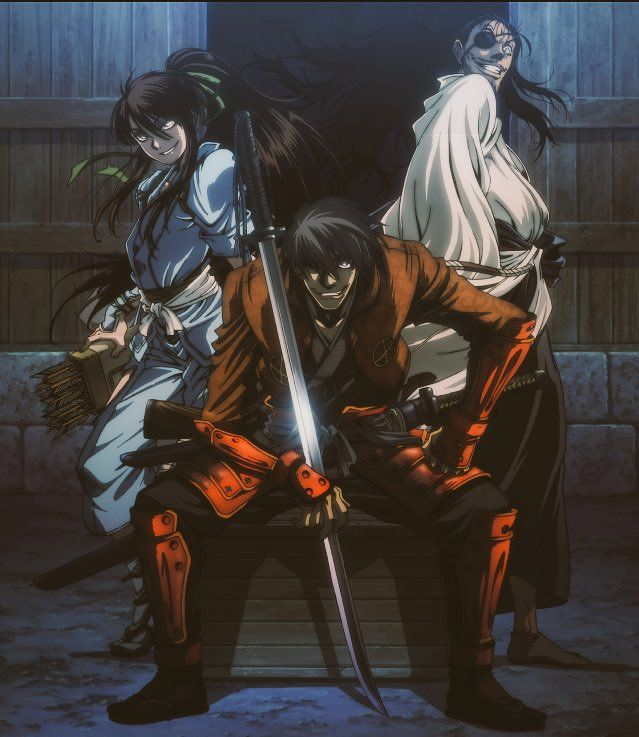 Pin By Mark Jorgensen On Fantasy Samurai Anime Anime Hellsing