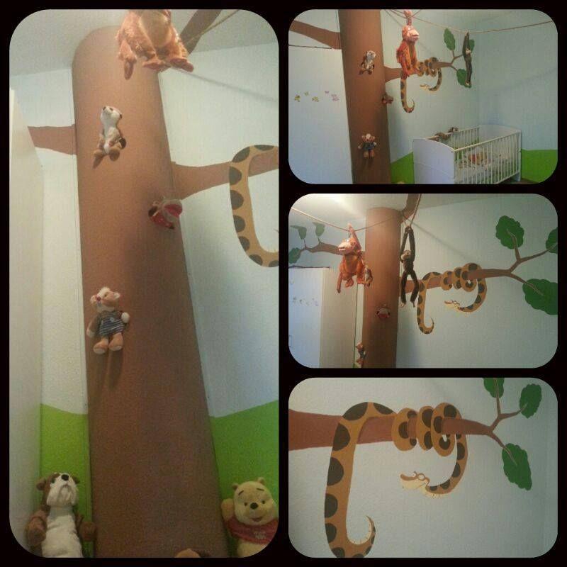 Kreativ gestaltetes Dschungelzimmer. Vielen Dank an Chrizz