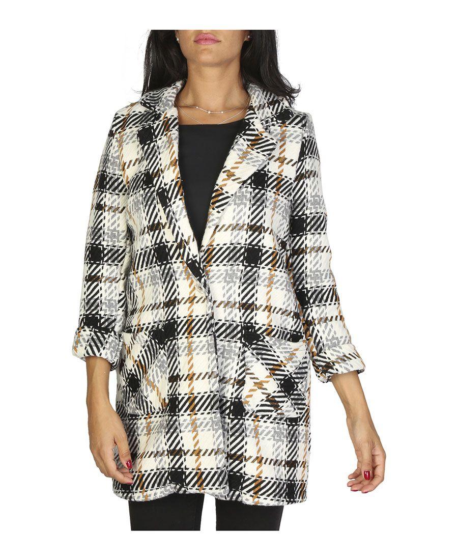 Made in  italia - genere  donna - tipologia  cappotto - chiusura  bottoni da9b25993e1