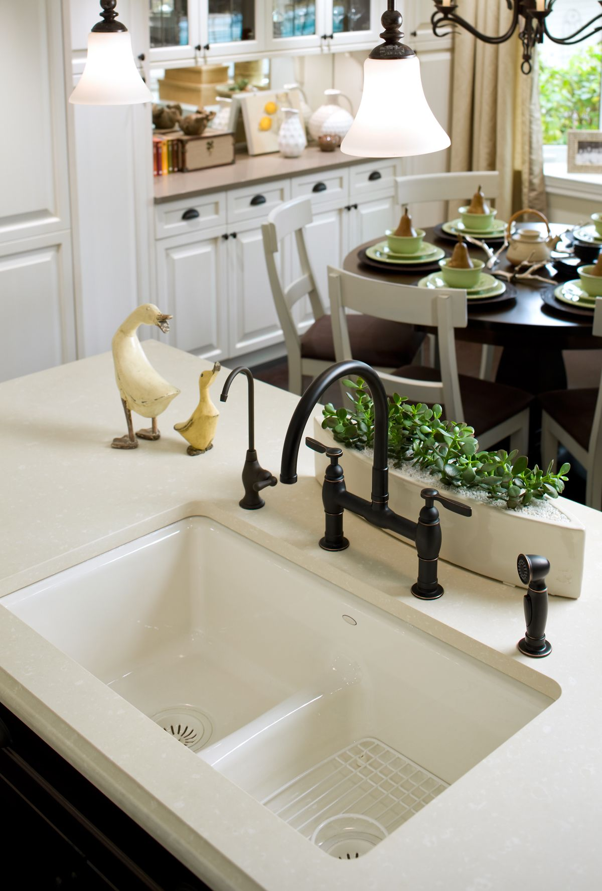 Details Give This Kitchen A Sense Of History That Is True To The