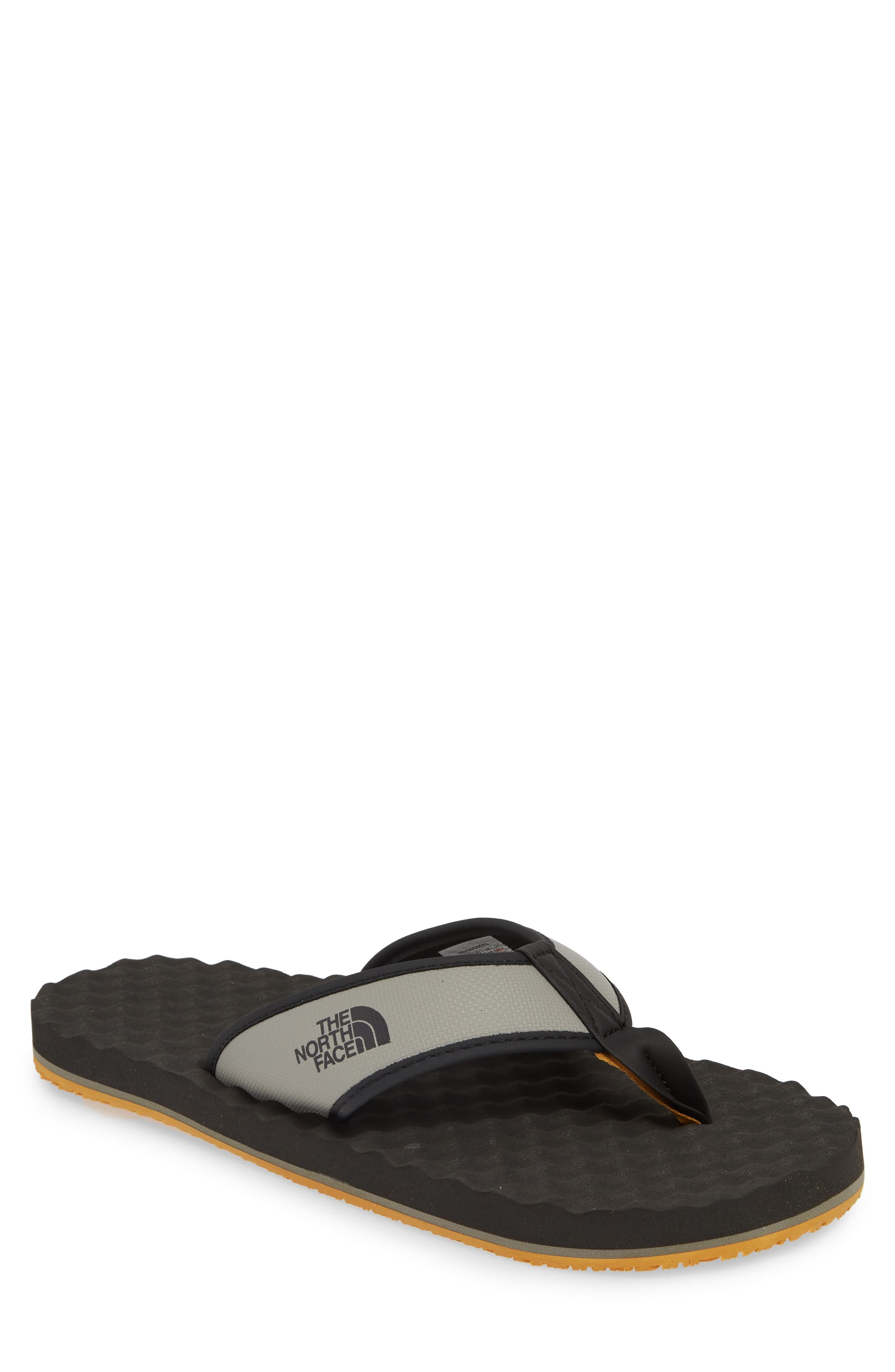 65048163bf7e Men's The North Face 'Base Camp' Water Friendly Flip Flop, Size 14 M - Grey