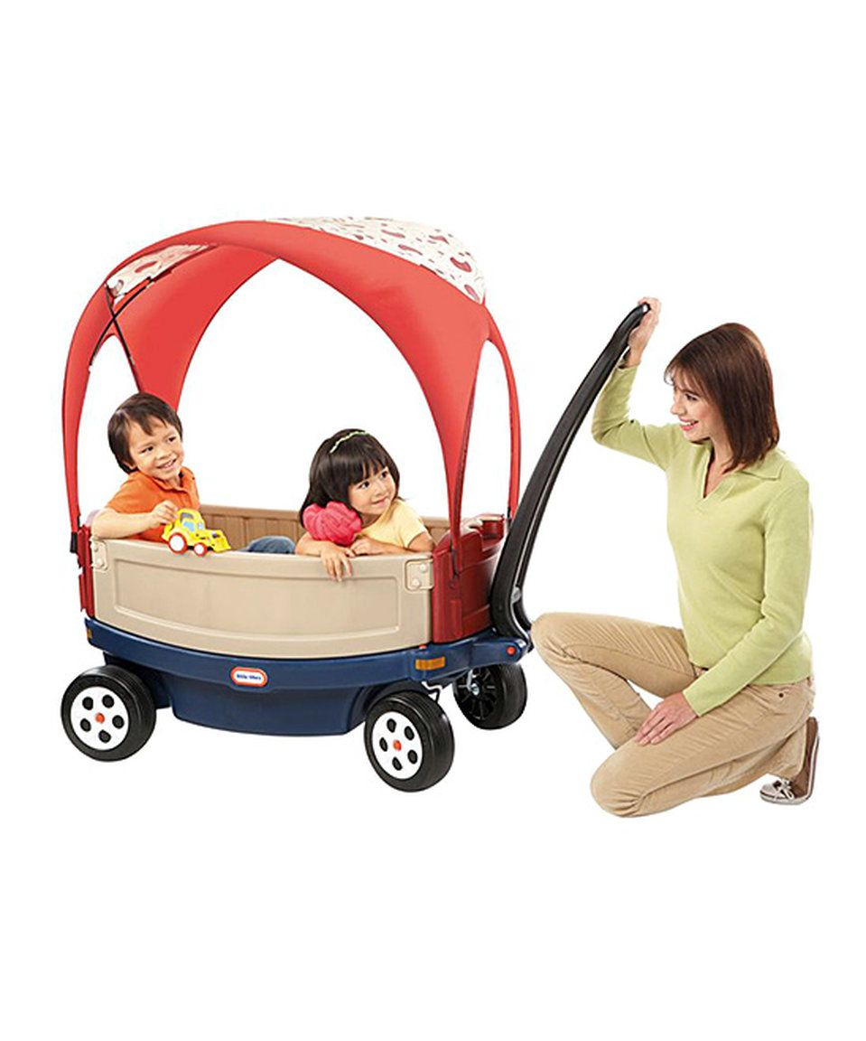 Take A Look At This Little Tikes Ride Relax Wagon Canopy Today