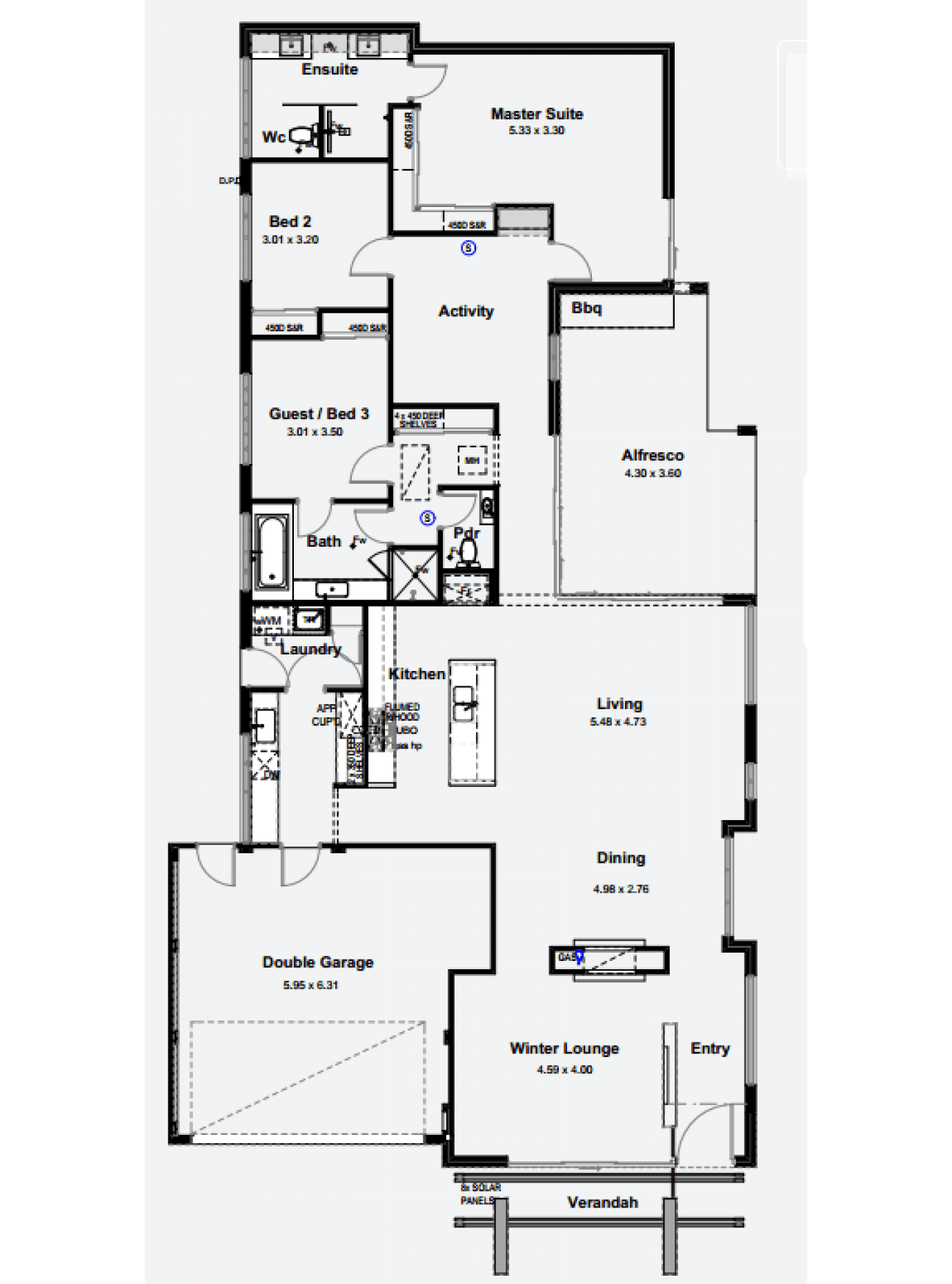 The Santorini By Aspireon Homes Display Homes House Floor Plans First Home Buyer
