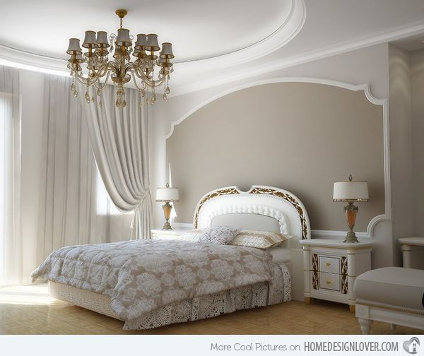 Delightful 15 Modern Vintage Glamorous Bedrooms