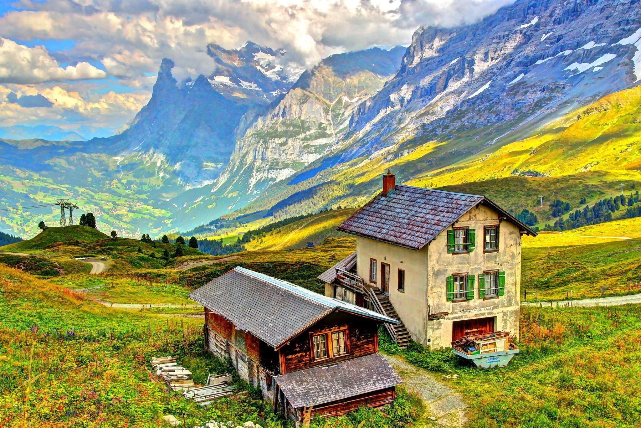 Photograph Kleine Scheidegg, Eiger Trail, Switzerland by Kevin Shingleton on 500px