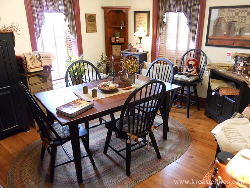 Kreamer Brothers Furniture In Annville PA Offers A Wide Variety Of Country Living Room Bedroom Dining And Occasional