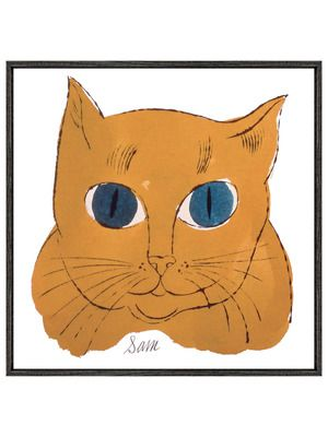 """Cat from """"25 Cats named Sam..."""" (Orange) by McGaw Graphics on Gilt Home"""