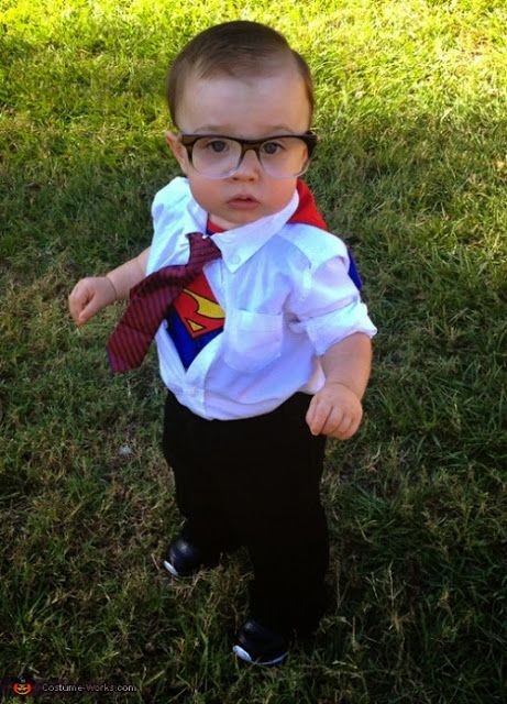 DIY Halloween Costumes for Kids - Superman · Clark Kent ...  sc 1 st  Pinterest & DIY Halloween Costumes for Kids - Superman | Costumes | Pinterest ...