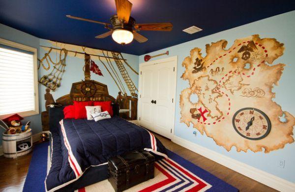 Nautical Decor Ideas From Ship Wheels To Starfish Boy Bedroom Design Bedroom Themes Boy Room Paint