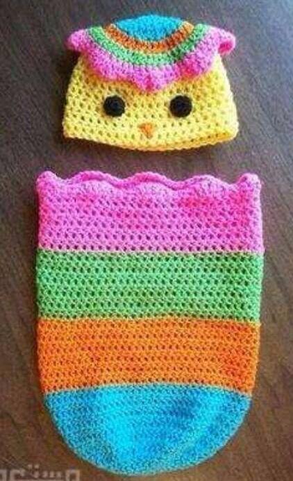 Capullo técnica crochet | Ropa de bebe | Pinterest