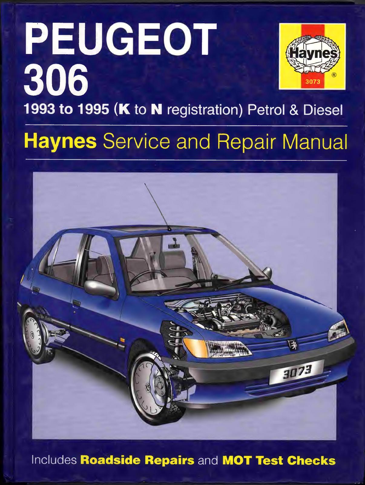 Page 1 Peugeot 306 1993 1996 Workshop Manual Pdf Peugeot Repair Manuals Manual