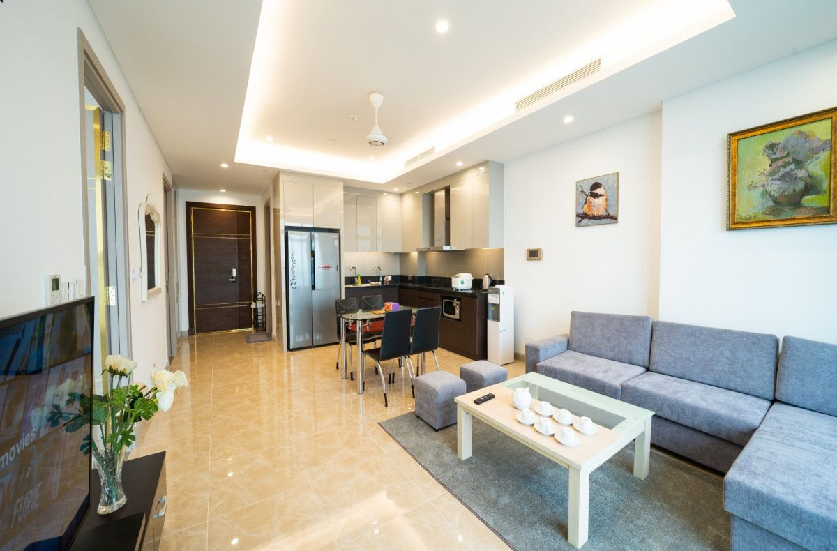 City View Apartment For Rent In Sun Grand Thuy Khue Tay Ho City View Apartment Apartments For Rent Renting A House