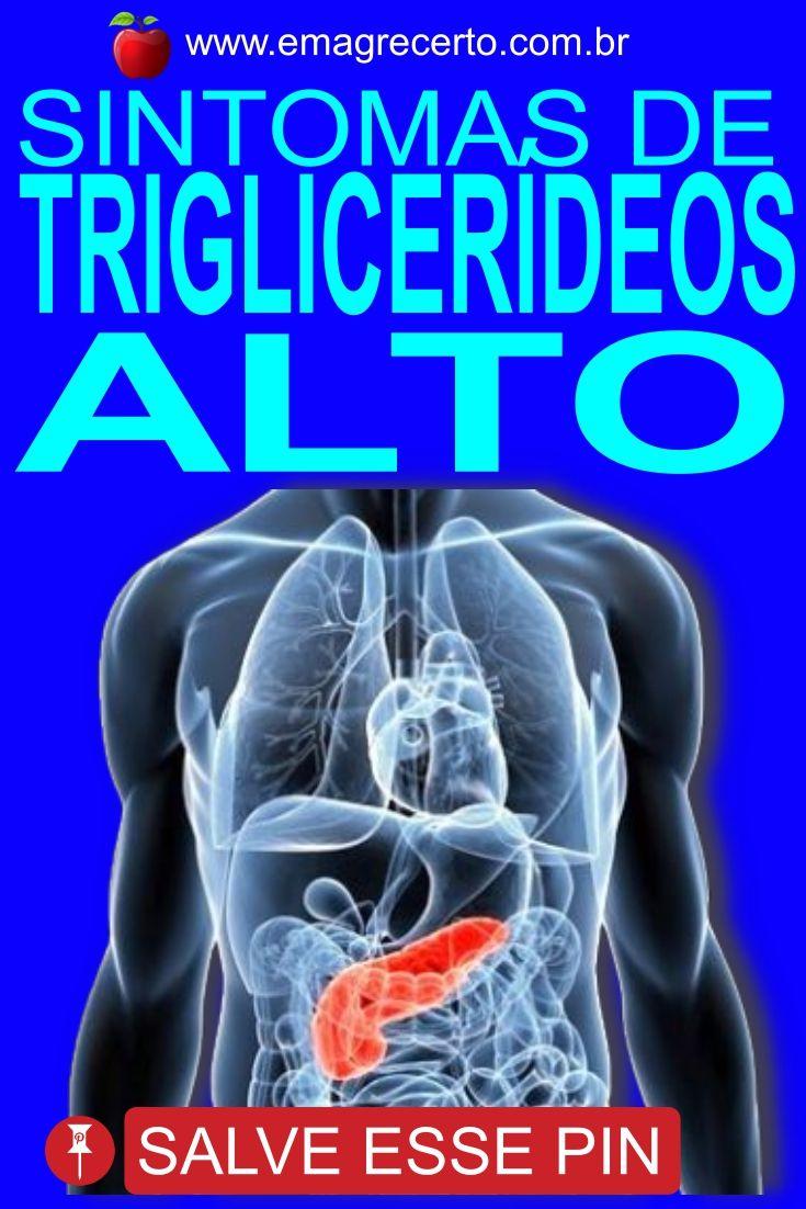 triglicerideos alto sintomas tratamento