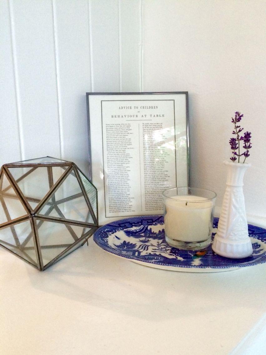 Modernes zen-küchendesign thrift finds really bringing the house together  dream decor