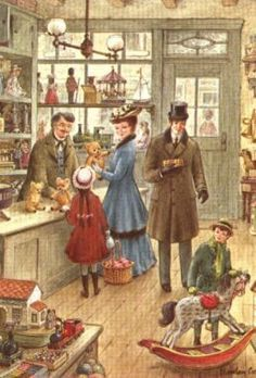 vintage illustration toys - Pesquisa Google