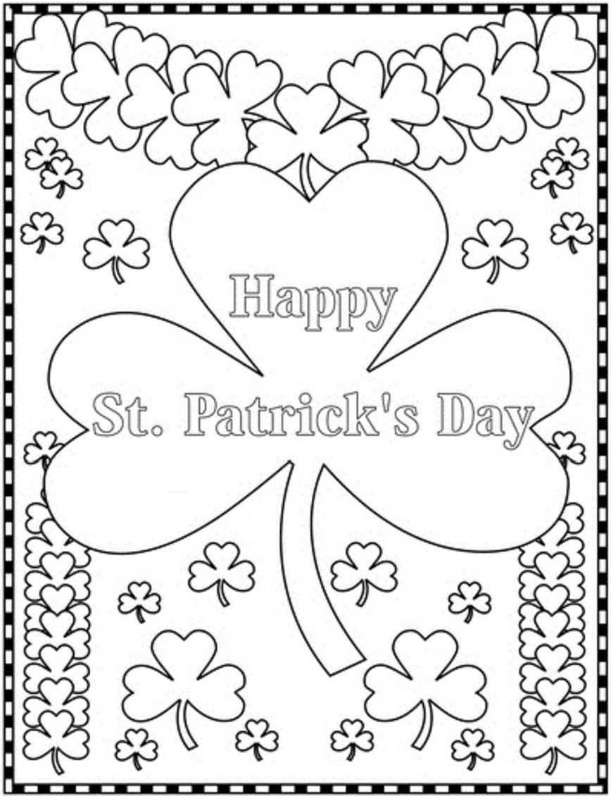 Pin von St. Patricks Day auf Coloring Pages | Pinterest