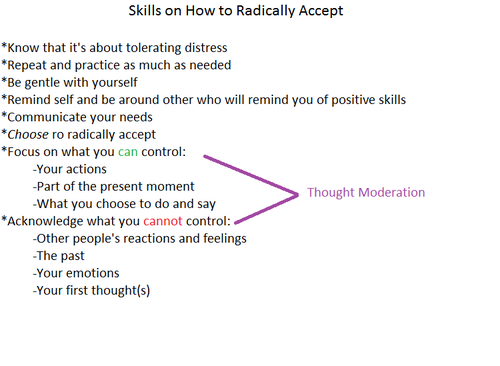 radical acceptance dbt - Google Search | For the office ...