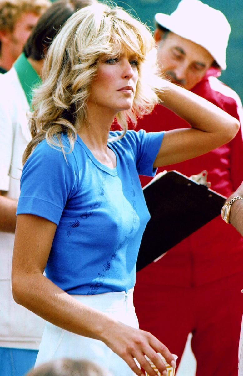 Farrah at the Battle of the Network Stars. | Farrah fawcett ...