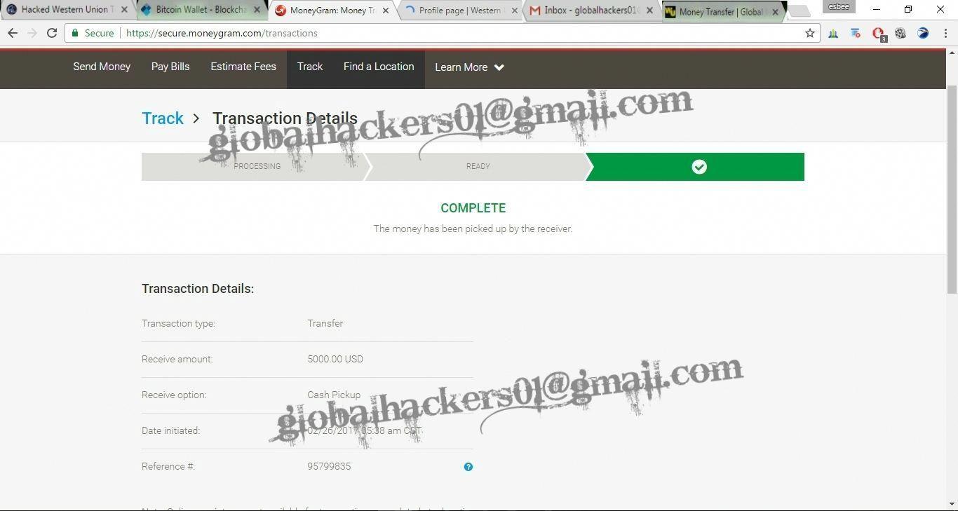 Get Paypal Transfer Western Union Transfer Bank Transfer