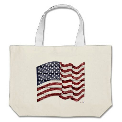 US Flag with wood grain Bag    •    Patrice from MA, Thank you for your purchase!   •   This design is available on t-shirts, hats, mugs, buttons, key chains and much more   •   Please check out our others designs at: www.zazzle.com/ZuzusFunHouse*
