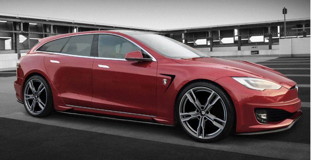 Tesla Model S Shooting Brake Headed For Geneva But It Needs A