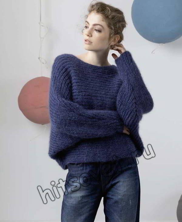 Вязание женских джемперов и свитеров на спицах