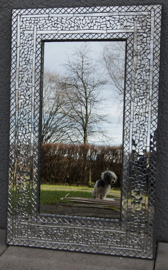 Espejo mosaico de espejo   Mirror on the wall   Pinterest   Espejo ...