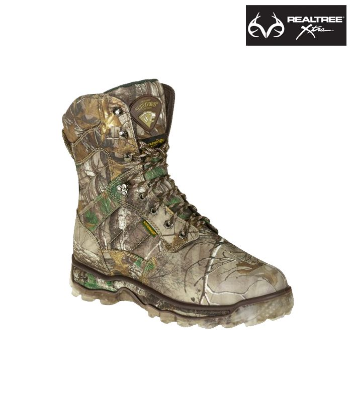 #NEW Realtree Xtra® Camo Herman Survivor Hunting Boots $49.98 my hubby  needs these in