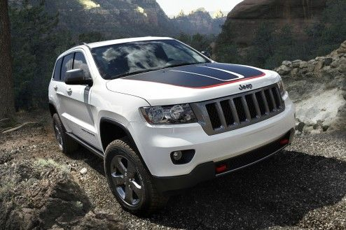 Introducing The 2013 Jeep Grand Cherokee Trailhawk The Jeep